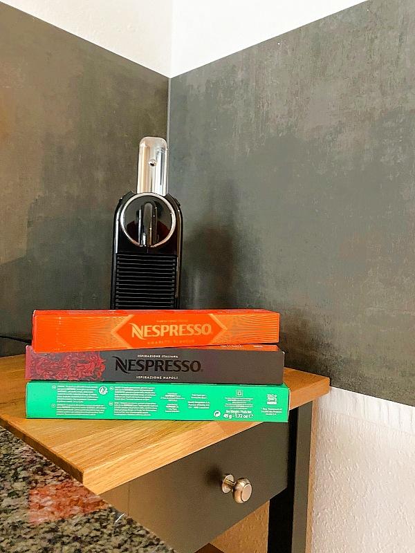 Ferienwohnung Emma: Espresso Kaffee-Automat