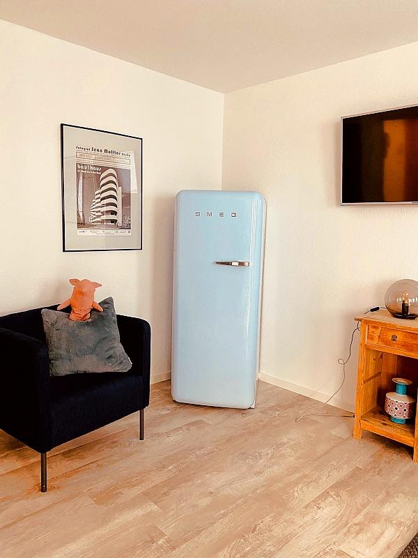 Ferienwohnung Emma: Kühlschrank
