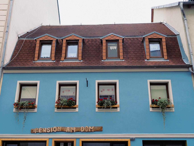 Außenansicht Pension am Dom (Obergeschoss Marienstr. 7)