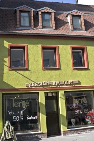 Außenansicht Pension am Dom