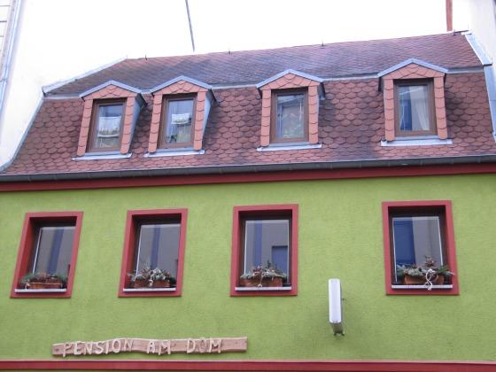 Außenansicht Pension am Dom (Obergeschoss Marienstr. 7))