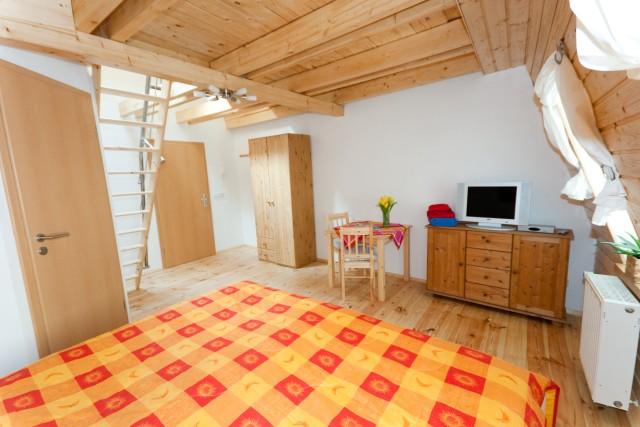 DG - Zimmer 1 - Raumansicht zur Zimmertür